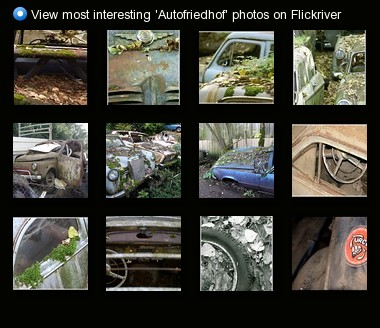 View most interesting 'Autofriedhof' photos on Flickriver