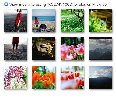 View most interesting 'KODAK 100D' photos on Flickriver