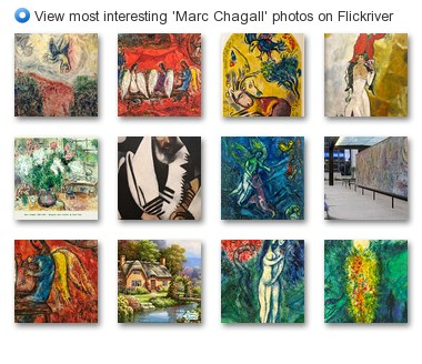 View most interesting 'Marc Chagall' photos on Flickriver