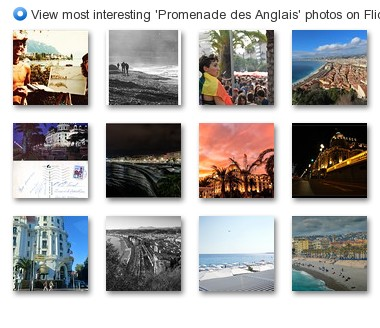 View most interesting 'Promenade des Anglais' photos on Flickriver