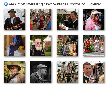 View most interesting 'unknownfaces' photos on Flickriver