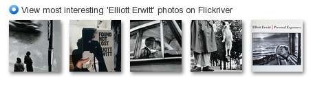View most interesting 'Elliott Erwitt' photos on Flickriver