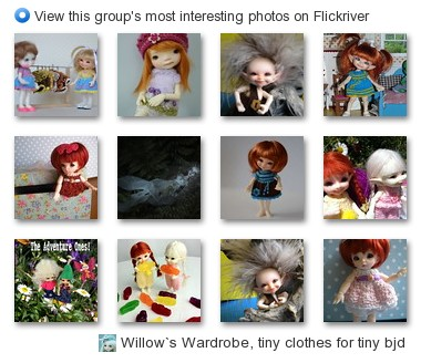 Willow`s Wardrobe, tiny clothes for tiny bjd - View this group's most interesting photos on Flickriver