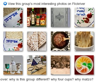 Passover: why is this group different? why four cups? why matzo? - View this group's most interesting photos on Flickrive