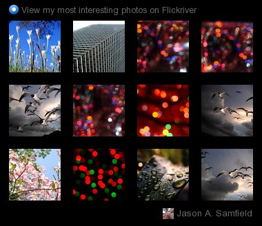 Jason A. Samfield - View my most interesting photos on Flickriver