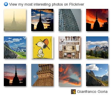 Gianfranco Goria - View my most interesting photos on Flickriver