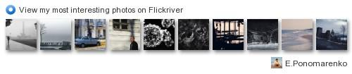 E.Ponomarenko - View my most interesting photos on Flickriver