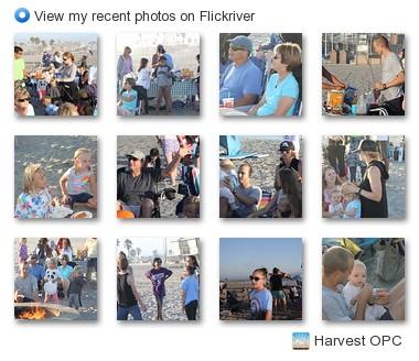Harvest OPC photos on Flicker