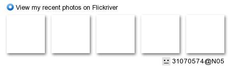 http://www.flickriver.com/badge/user/all/recent/noshuffle/medium-horiz/ffffff/000000/31070574@N05.jpg