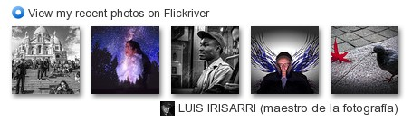 Luis Irisarri- View my recent photos on Flickr