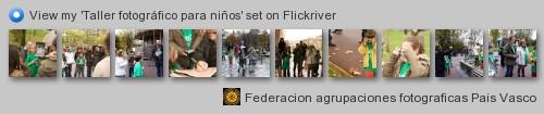 Federacion Agrupacion Fotograficas del Pais Vasco - View my 'Taller fotográfico para niños' set on Flickriver