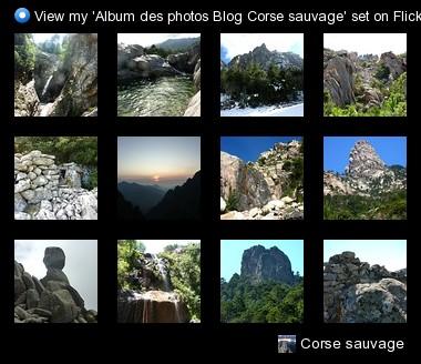 Photos diverses de montagne corse