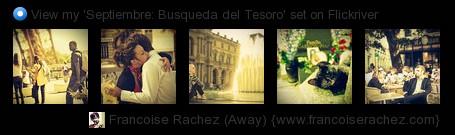Françoise Rachez - View my 'Septiembre: Busqueda del Tesoro' set on Flickriver