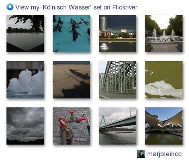 marjoleincc - View my 'Kölnisch Wasser' set on Flickriver