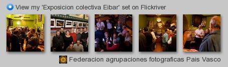Federacion agrupaciones fotograficas Pais Vasco - View my 'Exposicion colectiva Eibar' set on Flickriver