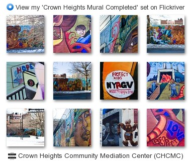 Crown Heights Community Mediation Center (CHCMC) - View my 'Crown Heights Mural Completed' set on Flickriver