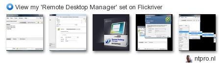 ntpro.nl - View my 'Remote Desktop Manager' set on Flickriver