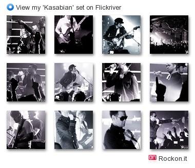 Rockon.it - View my 'Kasabian' set on Flickriver
