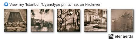 elenaerda - View my 'Istanbul /Cyanotype prints/' set on Flickriver