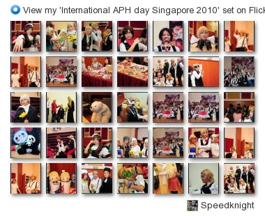 Speedknight - View my 'International APH day Singapore 2010' set on Flickriver