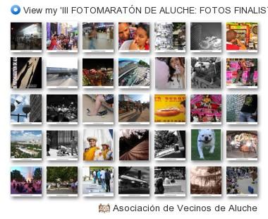 Asociación de Vecinos de Aluche - View my 'III FOTOMARATÓN DE ALUCHE: FOTOS FINALISTAS' set on Flickriver