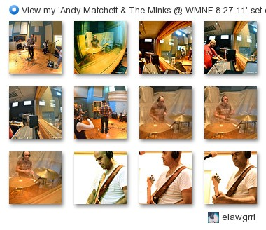 elawgrrl - View my 'Andy Matchett & The Minks @ WMNF 8.27.11' set on Flickriver