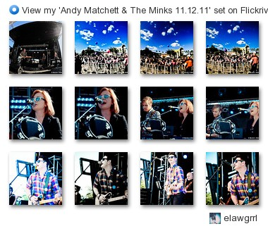 elawgrrl - View my 'Andy Matchett & The Minks 11.12.11' set on Flickriver