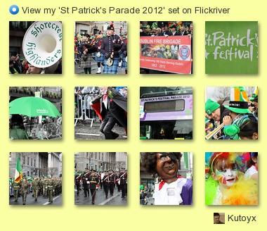 Kutoyx - View my 'St Patrick's Parade 2012' set on Flickriver