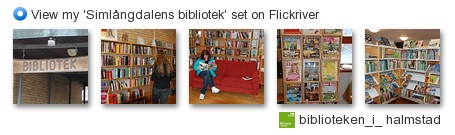 biblioteken_i_ halmstad - View my 'Simlångdalens bibliotek' set on Flickriver