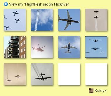 Kutoyx - View my 'FlightFest' set on Flickriver