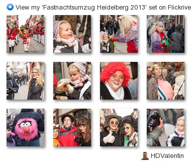 HDValentin - View my 'Fastnachtsumzug Heidelberg 2013' set on Flickriver
