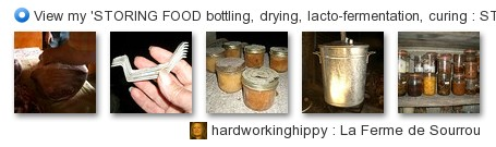 hardworkinghippy - View my 'STORING FOOD bottling, drying, curing...  ' set on Flickriver