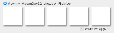 Ruru Ou - View my 'MacauDay3.2' photos on Flickriver